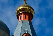 Колокольня в Храме Пантелеймона целителя